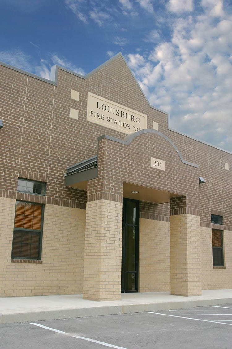 louisburg-fire-station-entrance
